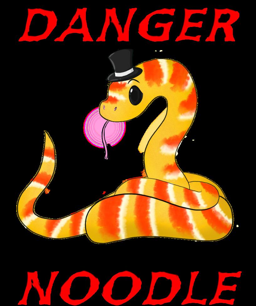 Noodle clipart illustration. Danger t shirt by