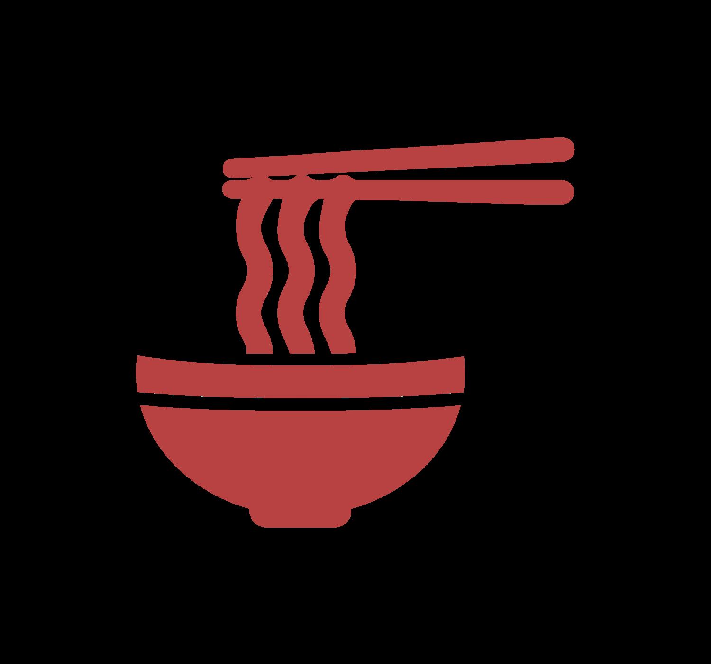 Ramen bar . Noodle clipart illustration
