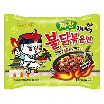 Noodle clipart korean raman. Samyang buldak chicken stir