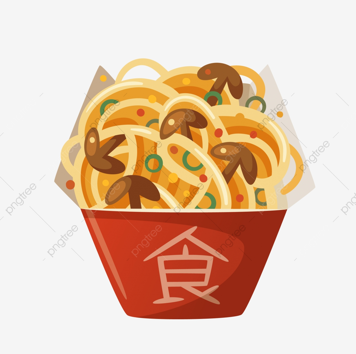 Noodles food cartoon . Noodle clipart noodle chinese
