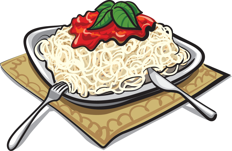 Pasta clipart pasta night. Spaghetti noodles free download