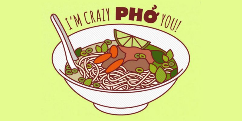 Noodle clipart pho. Is healthy