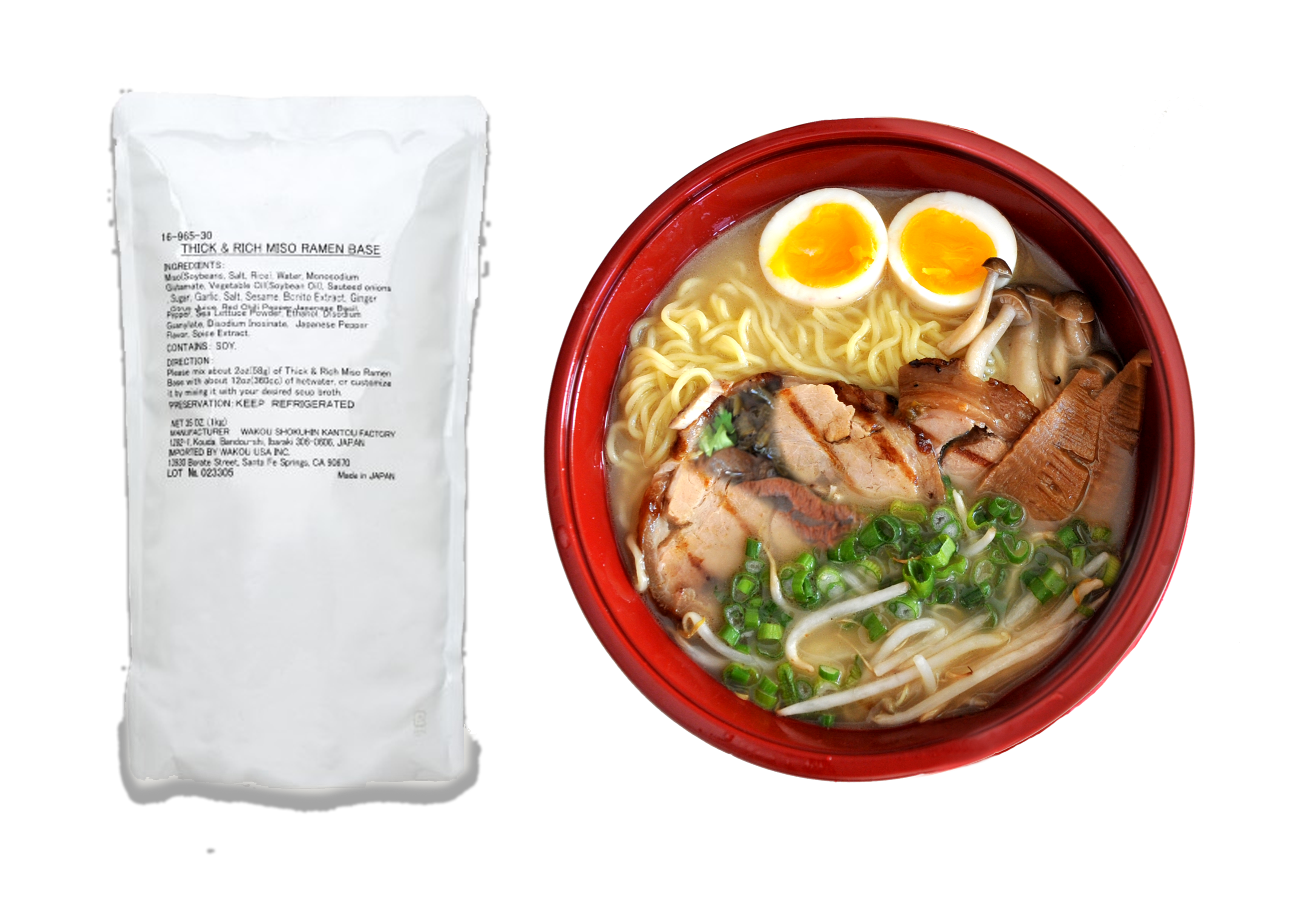Pho and ramen distributor. Soup clipart miso soup