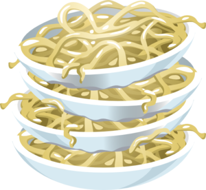 Noodles clipart plain. Clip art library