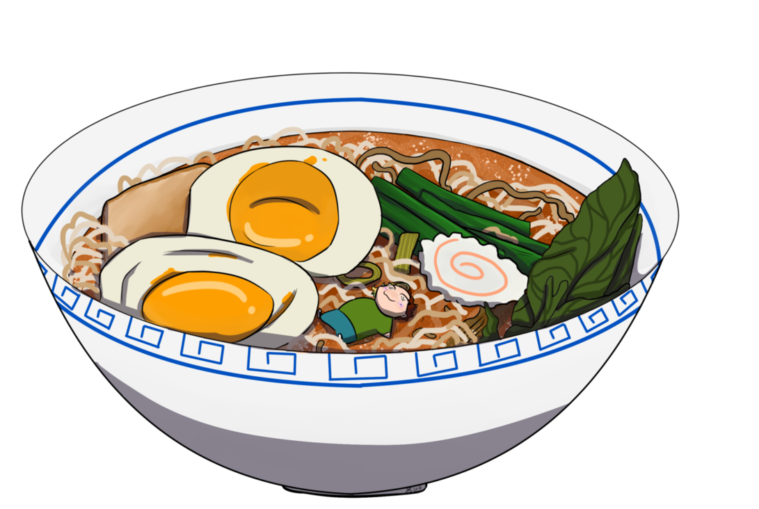 Noodles clipart transparent. Ramen girl by lamianlife