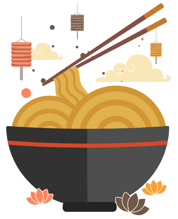 Noodle clipart rice noodle. Noodles everyday hand pulled