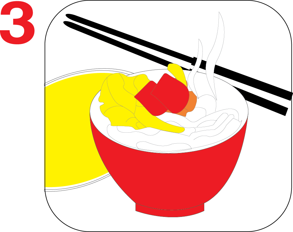 Instant with beef g. Noodle clipart rice noodle