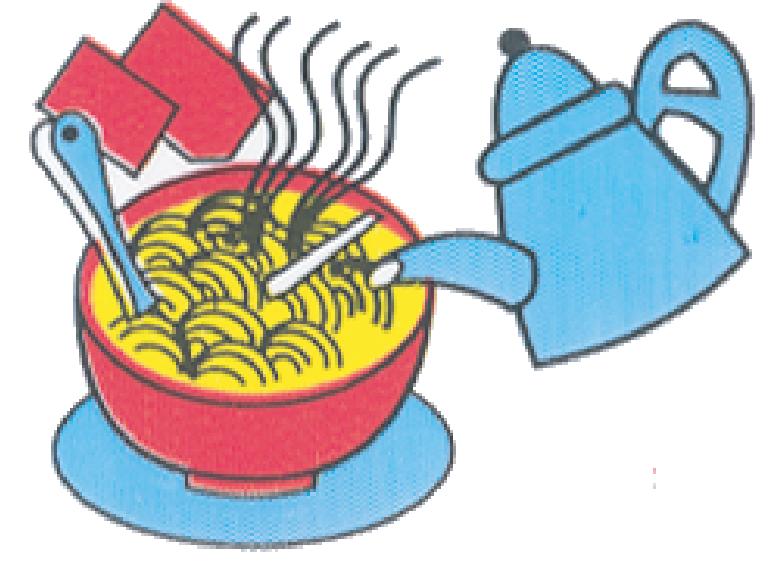 Oriental style instant phnom. Noodle clipart rice noodle
