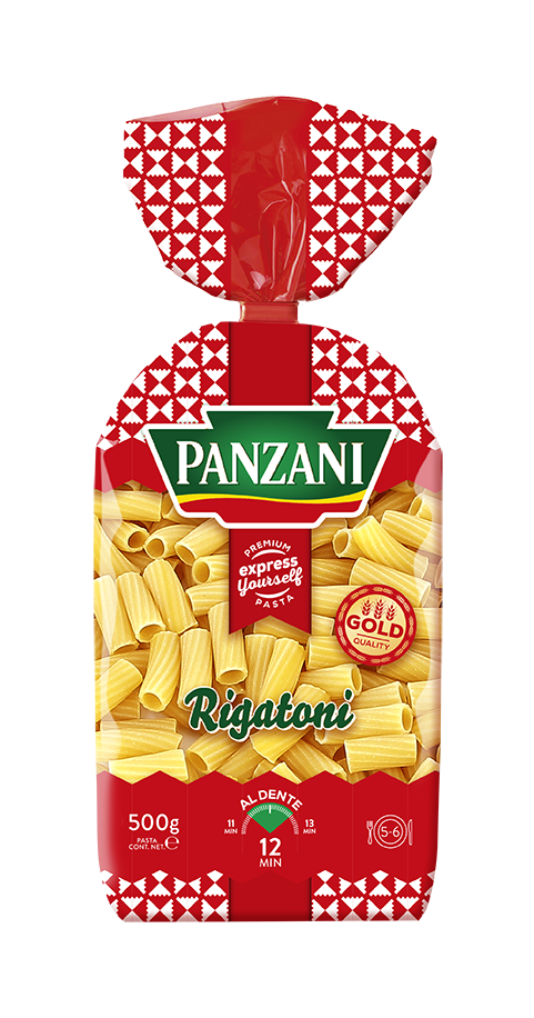 Products via panzani packrigatoni. Noodle clipart spiral pasta