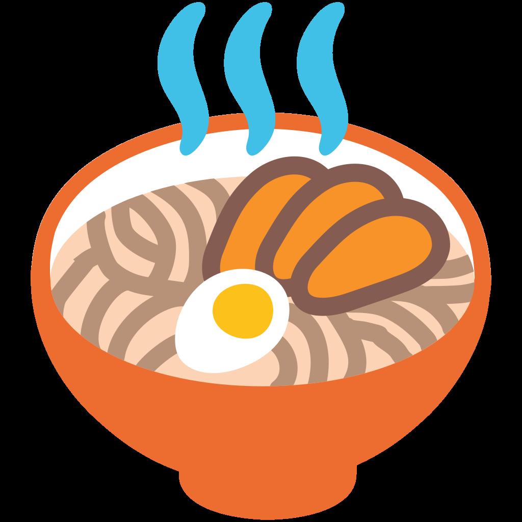 File emoji u f. Noodle clipart svg