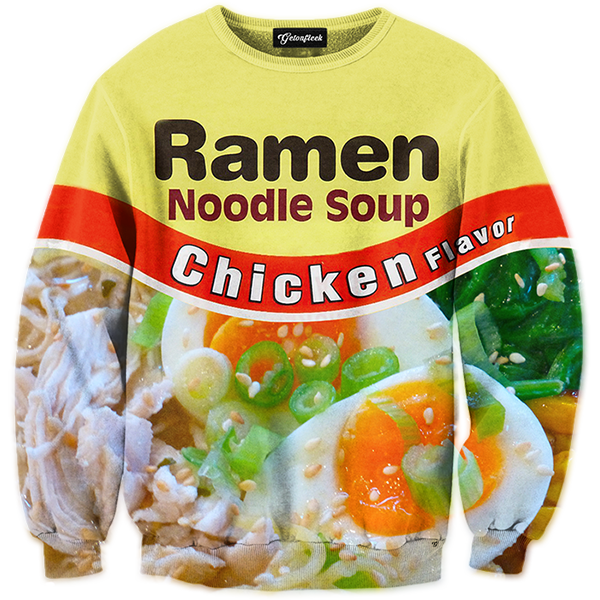 Noodle clipart top raman. Chicken ramen tracksuit all