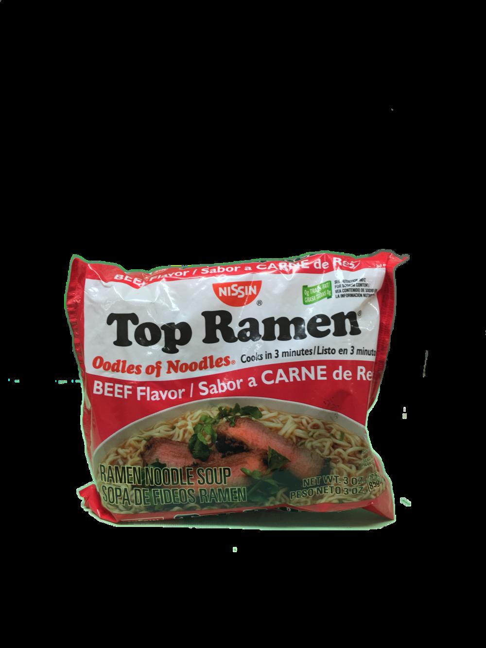 Noodle clipart top raman. Nissin ramen beef flavored