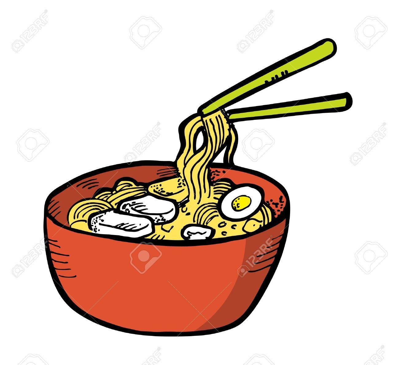 Noodles clipart. Ca f d b