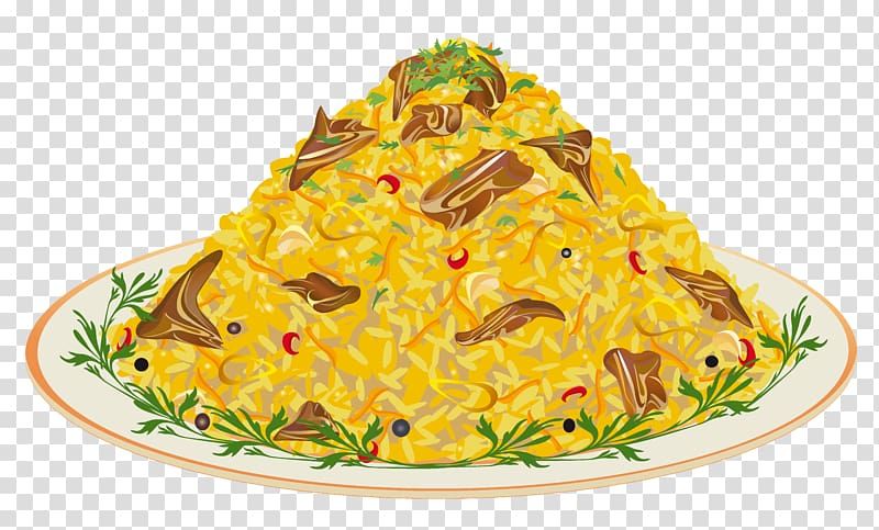Noodles clipart european food. Dish on plate illustration