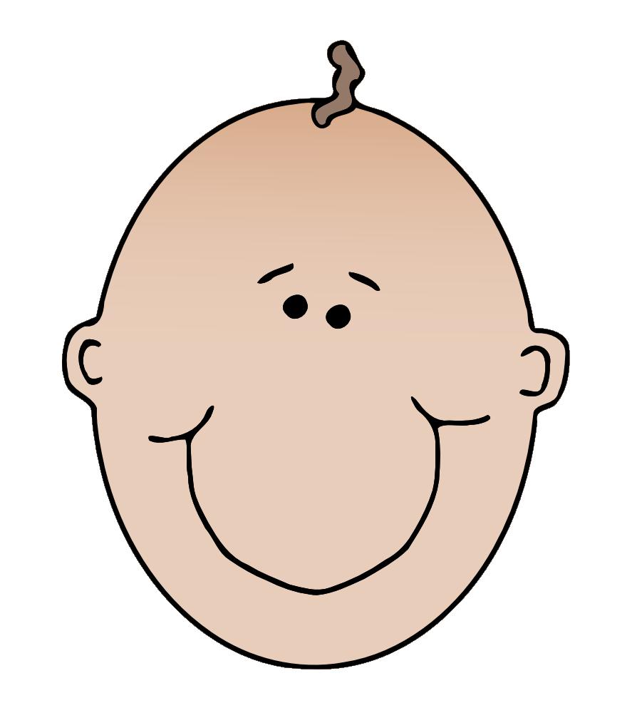 Onlinelabels clip art boyface. Nose clipart color