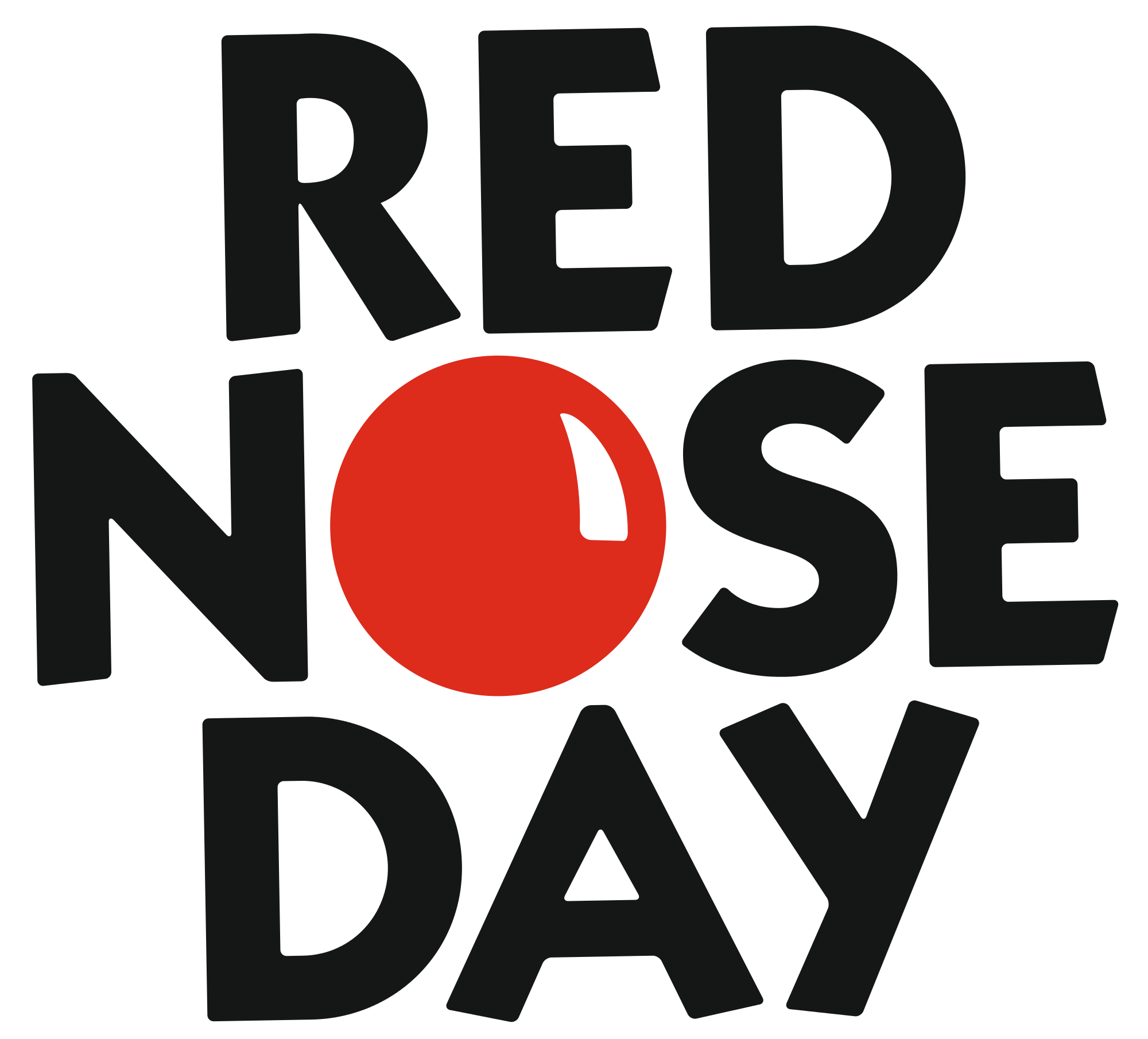 collection of red. Nose clipart round