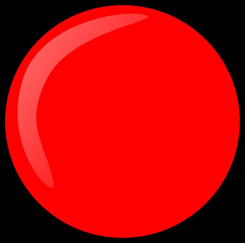 Nose clipart round. Red button medium image