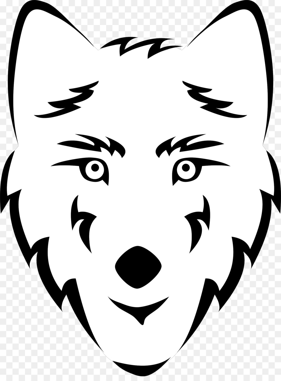 Cartoon transparent clip art. Wolf clipart nose
