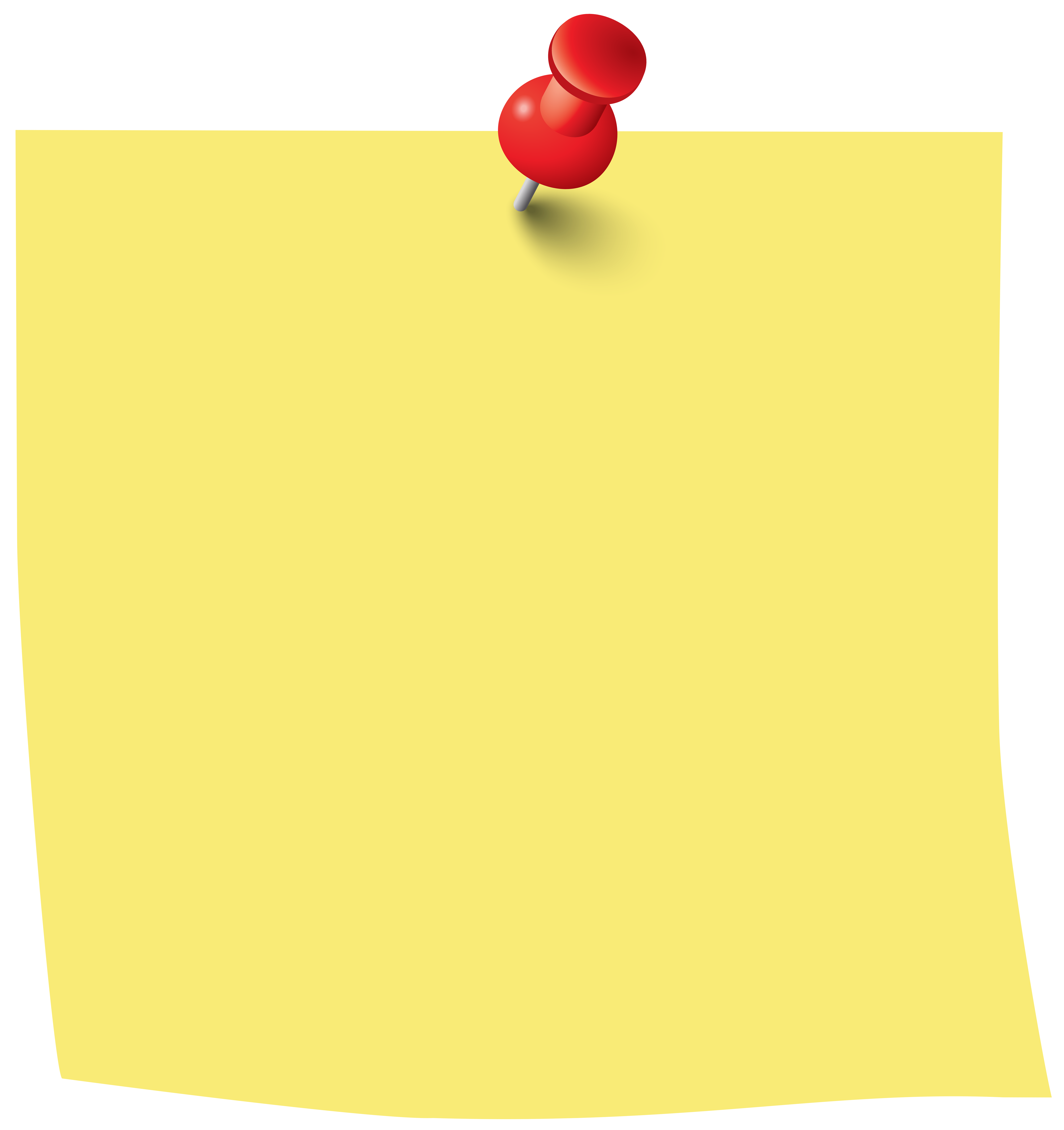 Sticky note png clip. Sunny clipart object
