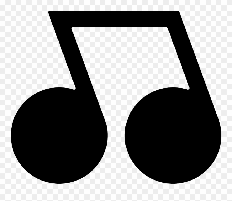 Note clipart individual. Music notes png