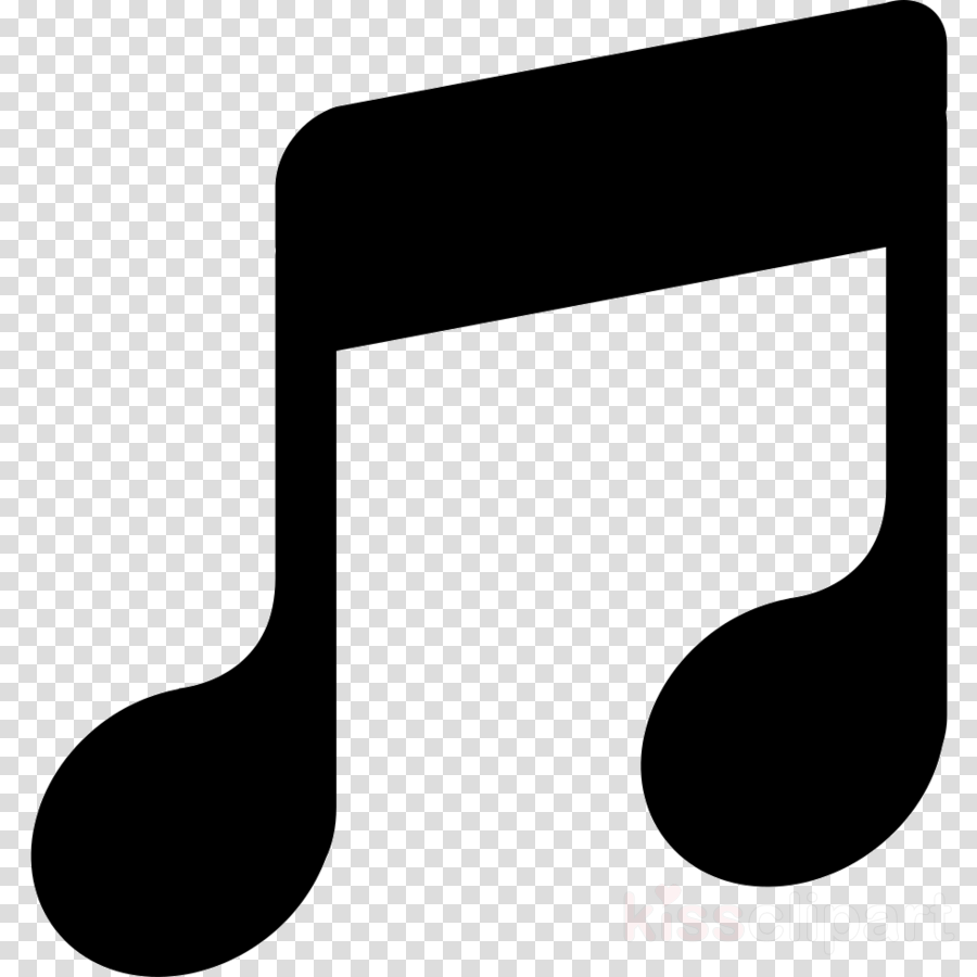 Note clipart music. Illustration flat transparent