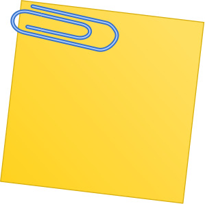 Paper clip panda free. Note clipart paperclip
