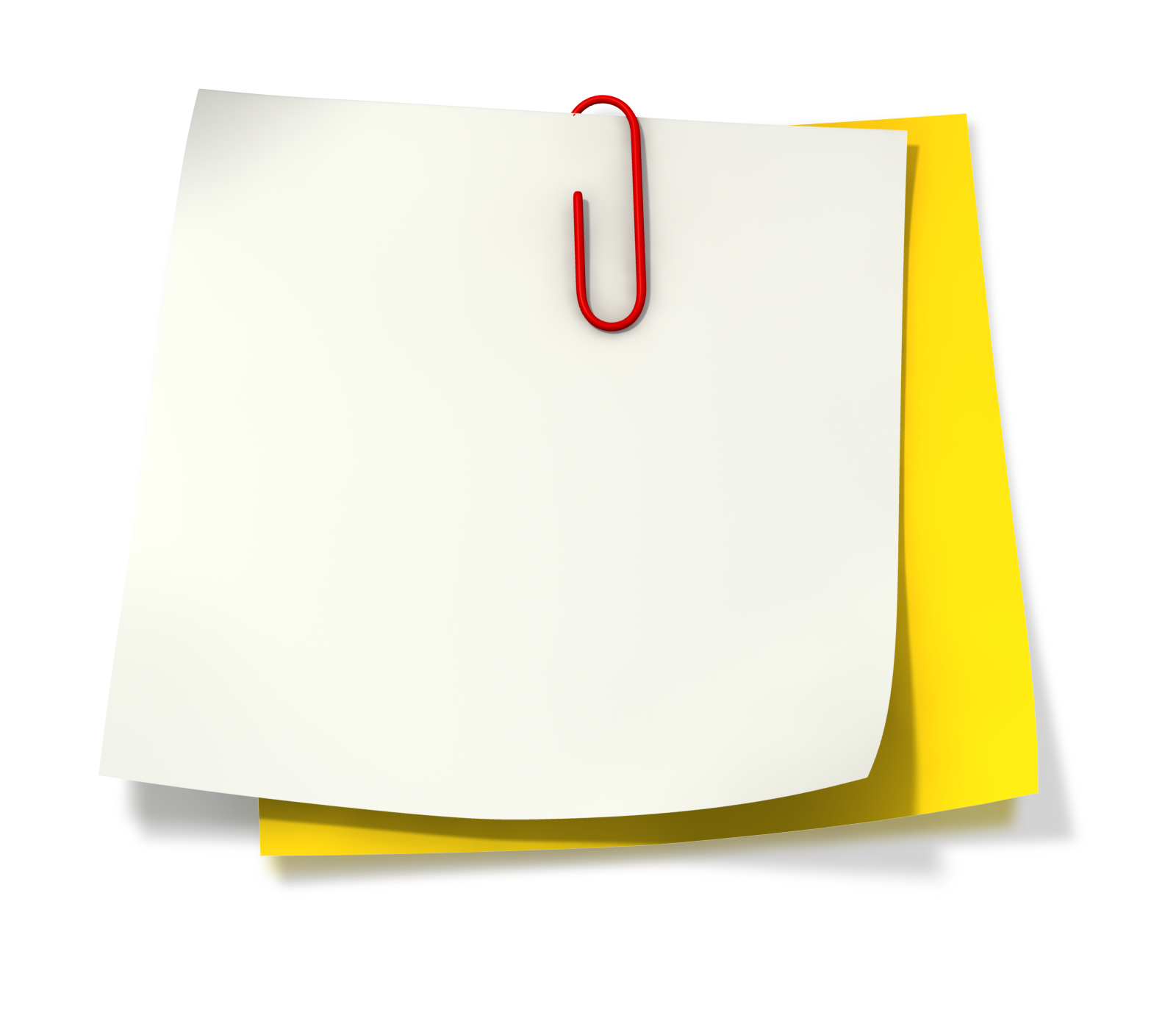 Note clipart paperclip. Images of on paper