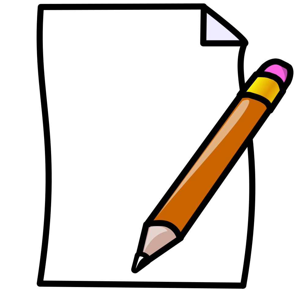 Note clipart pen and paper. File svg wikimedia commons
