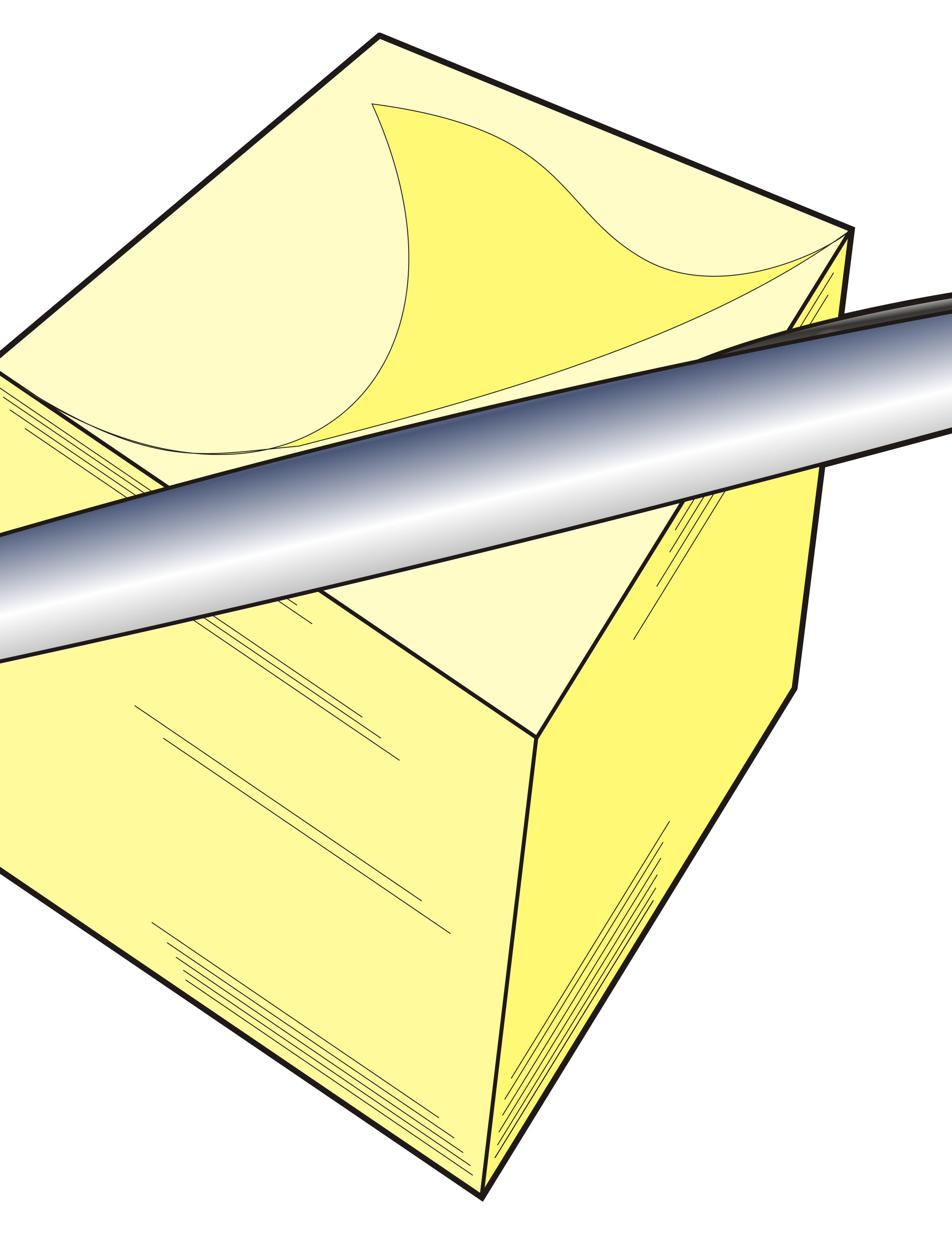 Note clipart pen and paper. Pad big image png