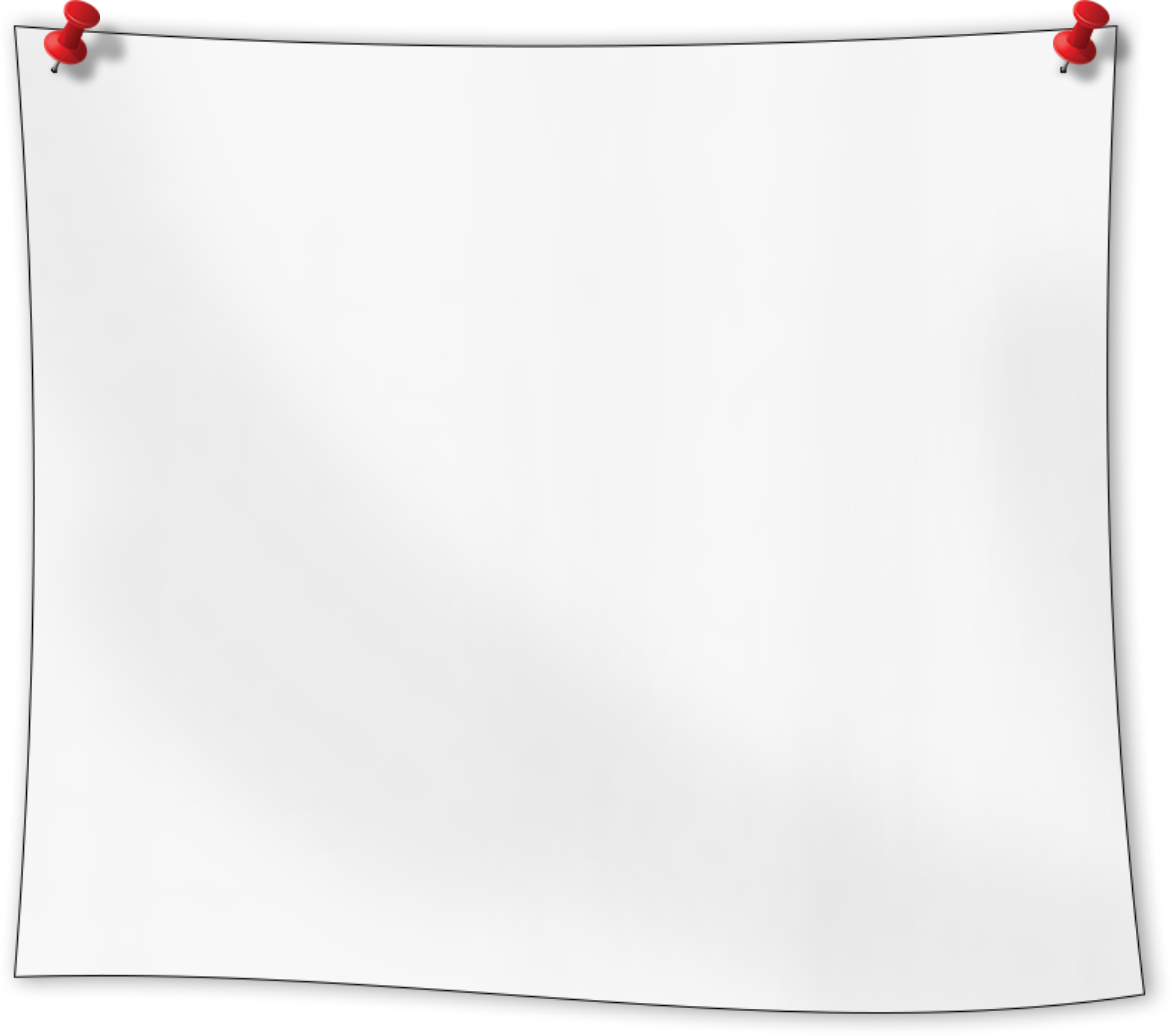 Big image png. Note clipart pinned note