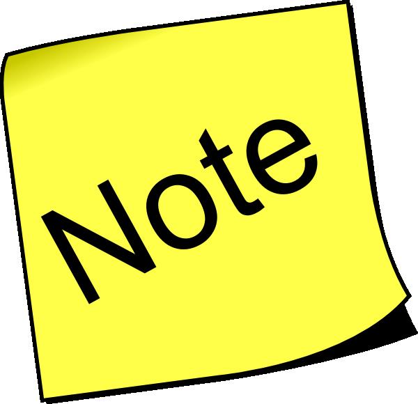 Notes notice