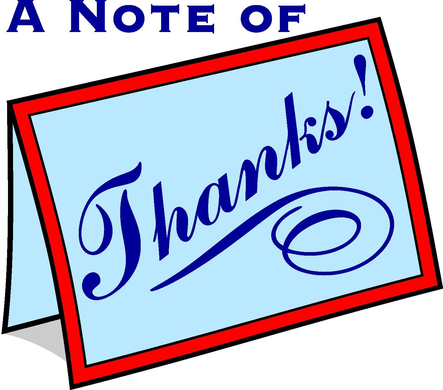 Thanks clipart thank you card. Clip art panda free