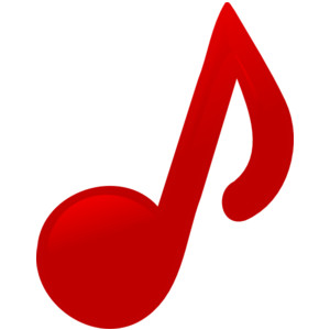 Music notes clipartpost . Note clipart tiny