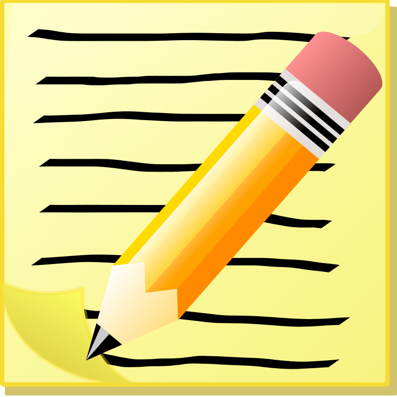 Notepad clipart writing pad. Free download best on