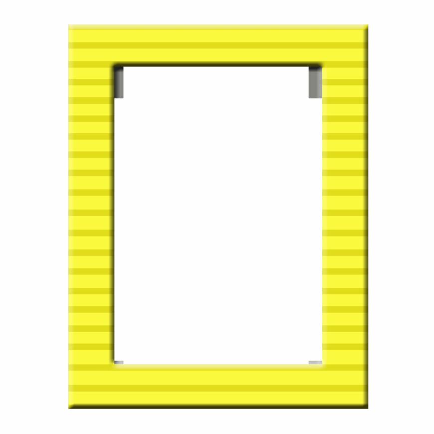 X px frames pinterest. Yellow frame png