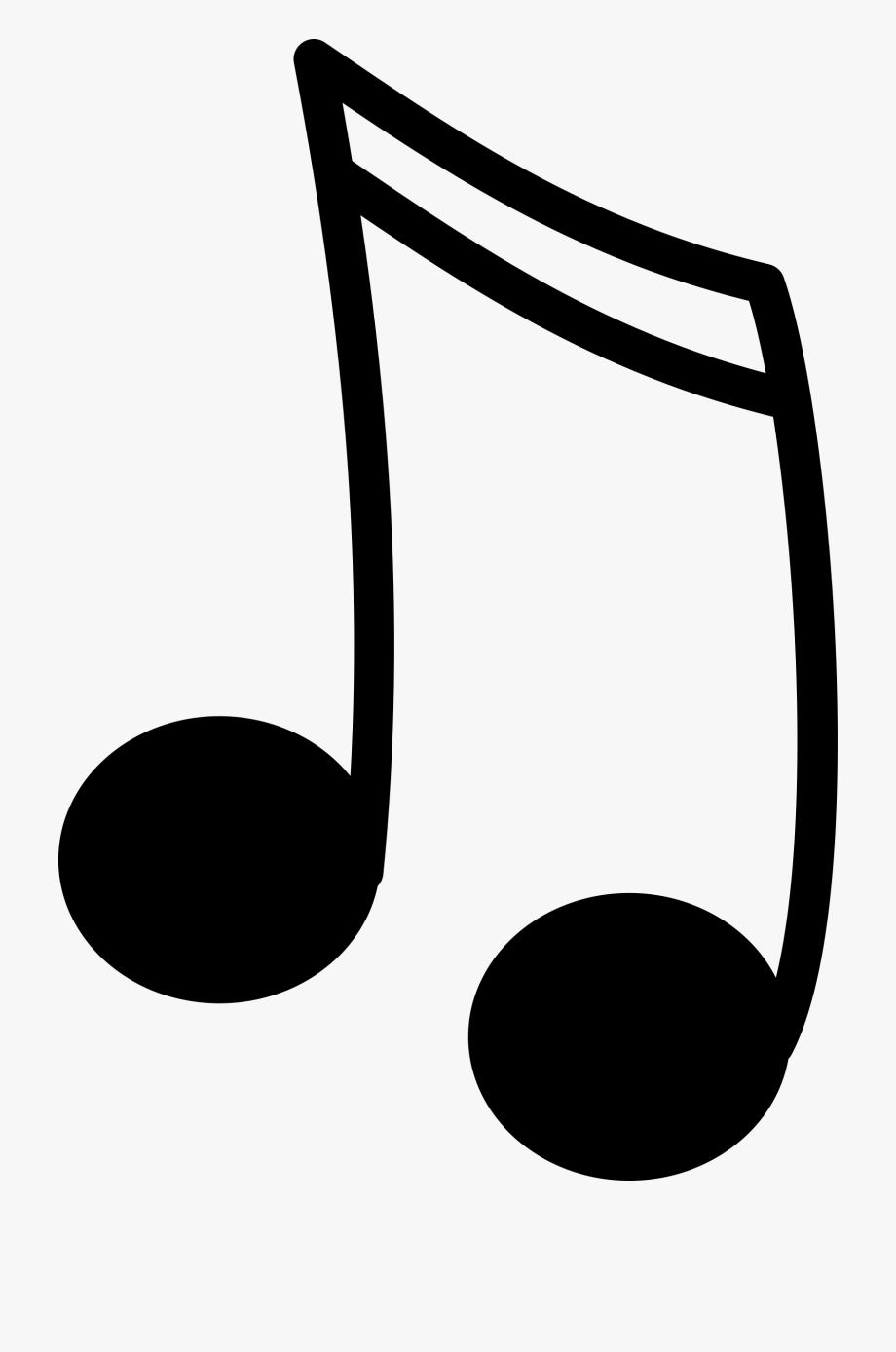 Music transparent cartoon free. Note clipart