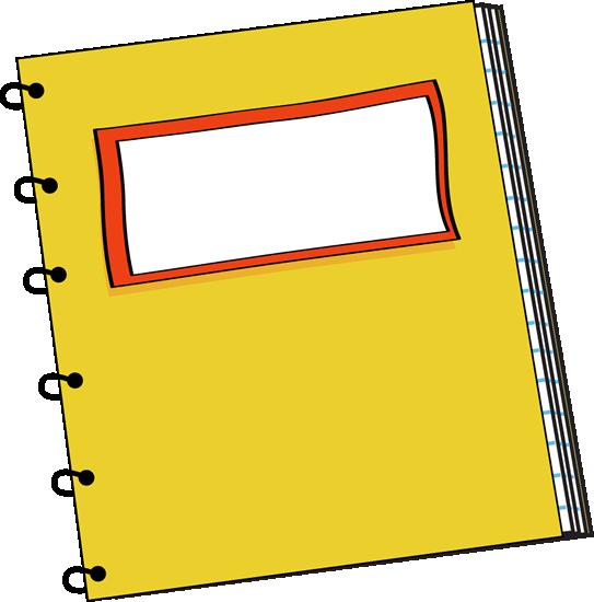 School . Notebook clipart