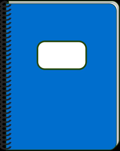Notebook clipart. Spiral