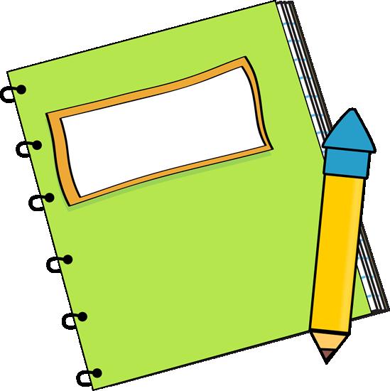 Notebook clipart. Pencil clip art panda