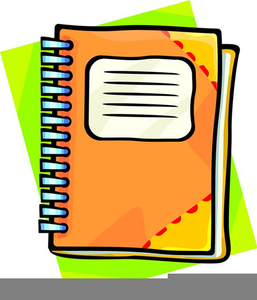 Notebook clipart. Assignment free images at