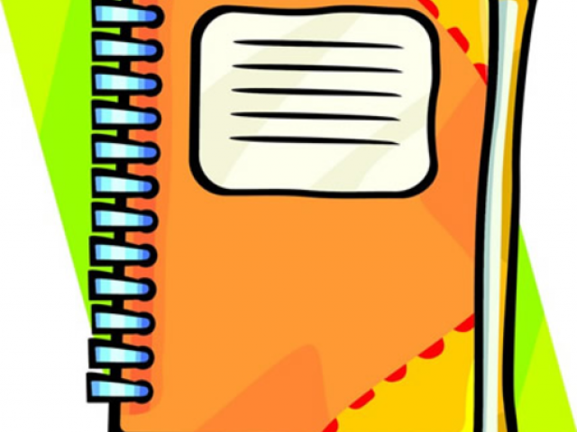 Free download clip art. Notebook clipart assignment notebook