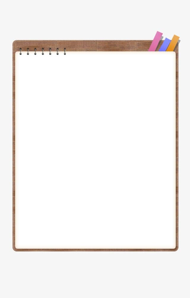 Notebook clipart blank notebook. Png notes free