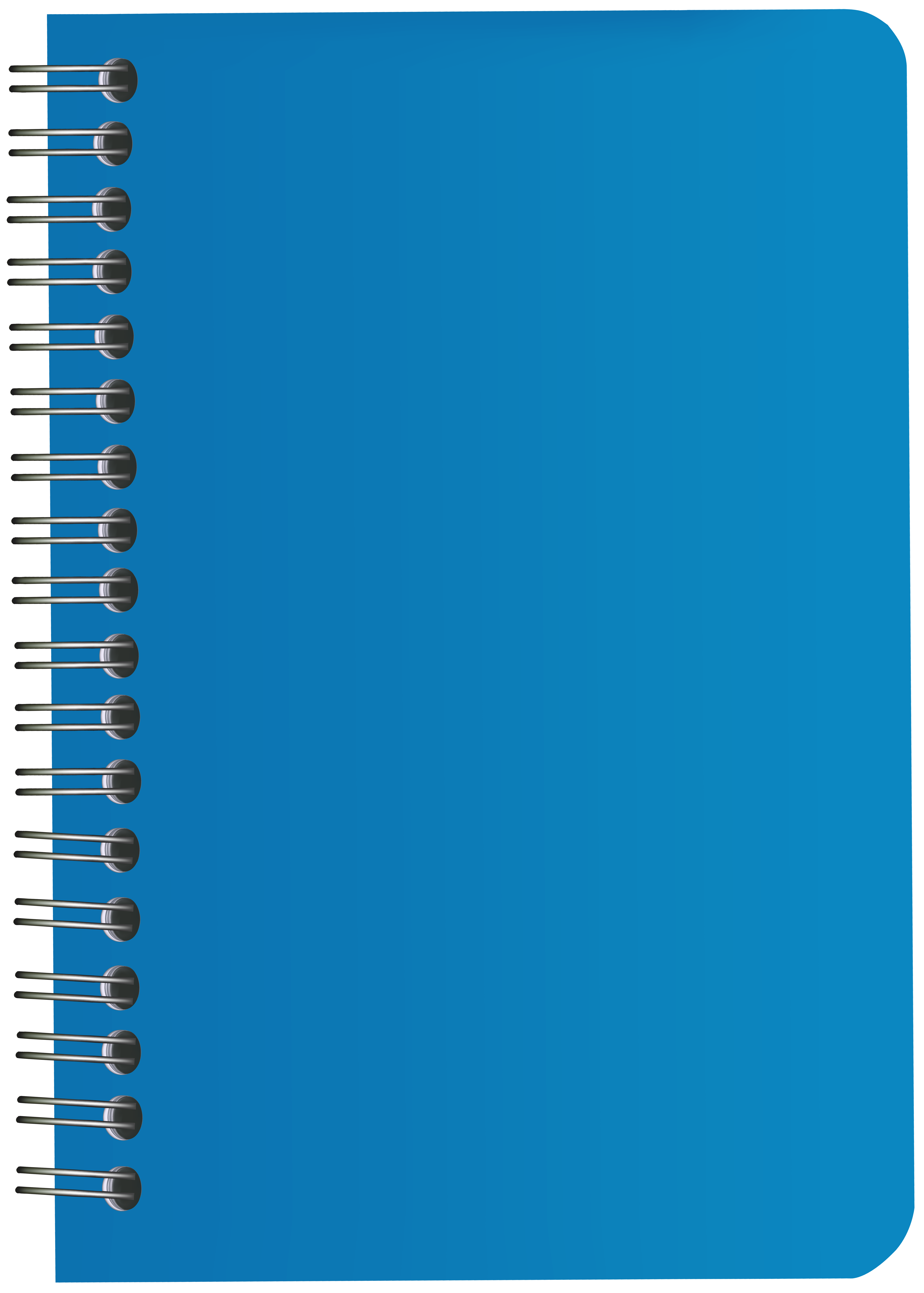 Png clip art image. Notebook clipart blue notebook