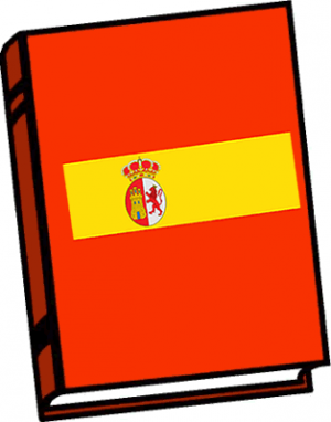 Notebook clipart book spanish. Free download best