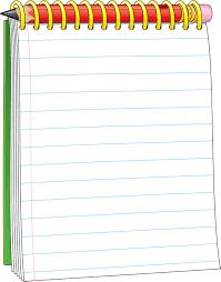 Notepad clipart notebook border design. Image result for school
