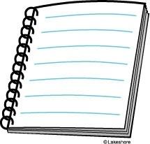 Notebook clipart clipart hd. Spiral paper panda free
