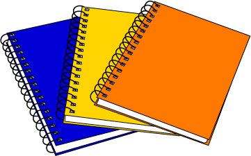 Cliparts zone . Notebook clipart clipart hd
