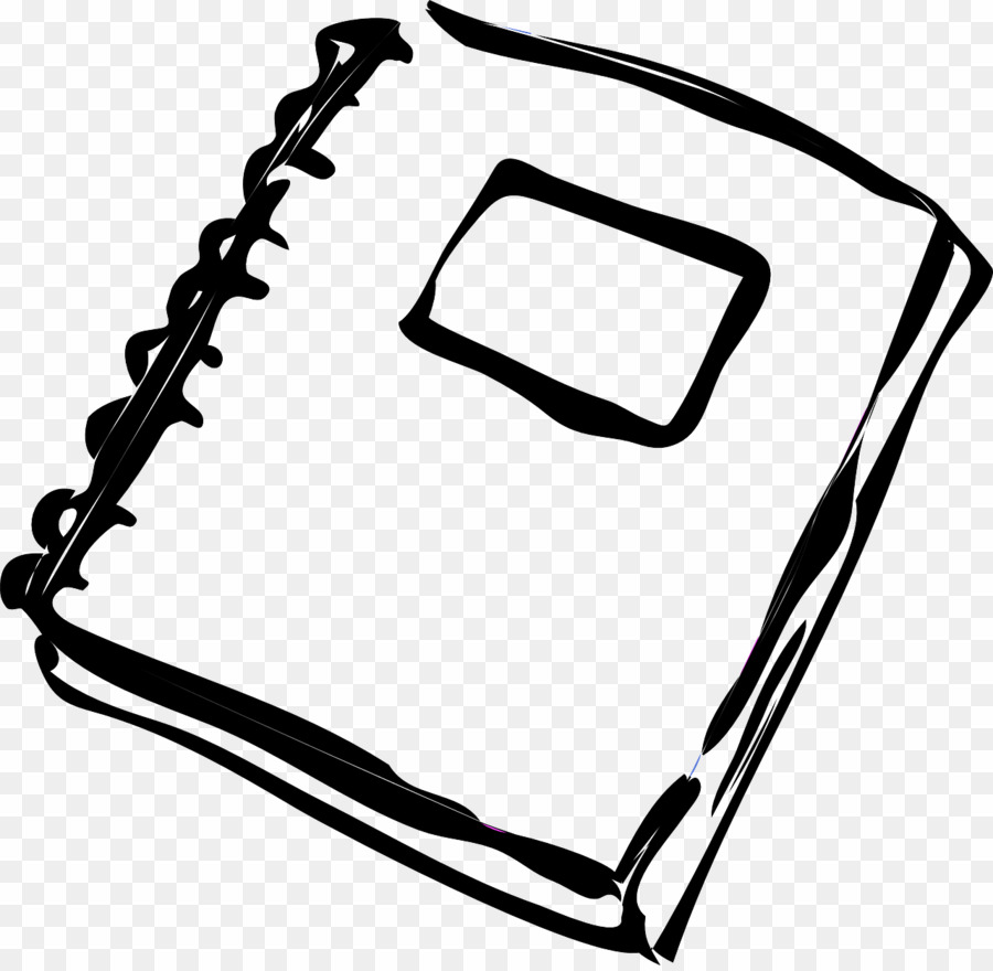 Png book download . Notebook clipart coloring page