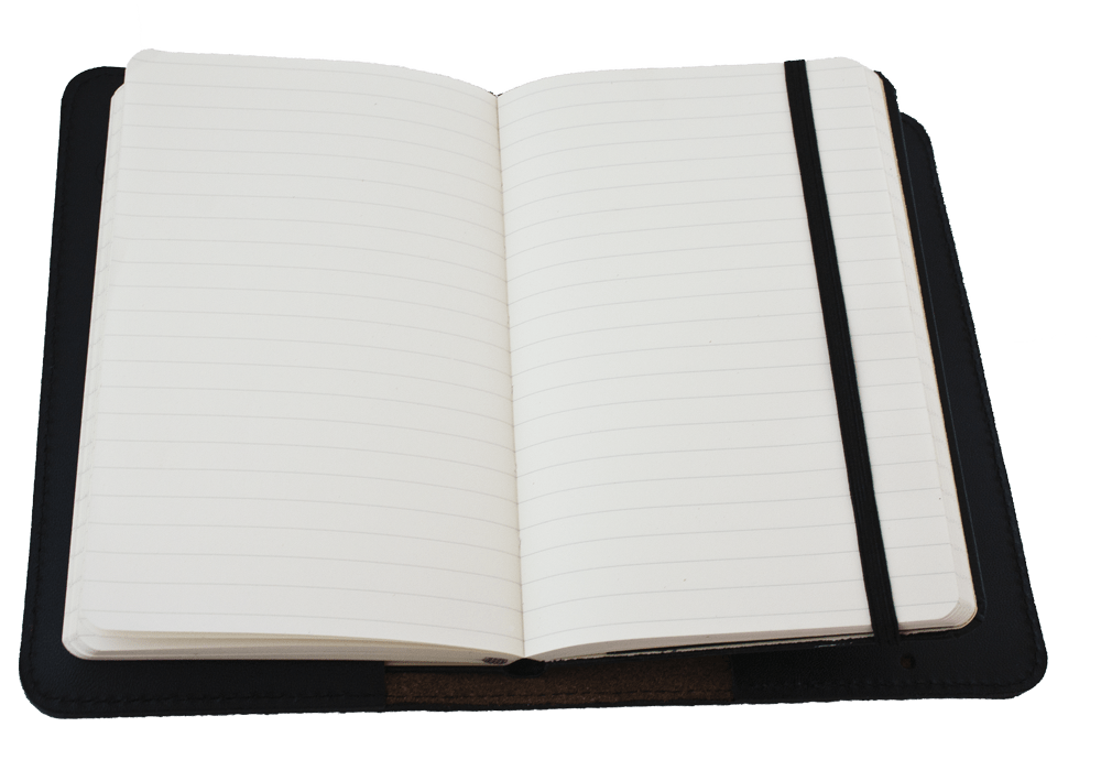 Open on a table. Notebook clipart diary