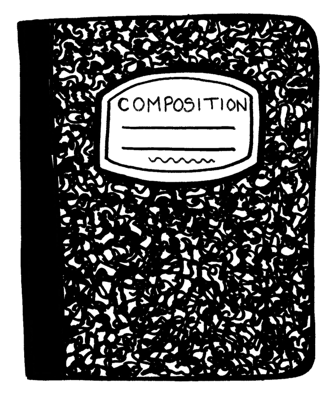 Notebook clipart exercise book. Paper clip art transprent